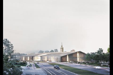 Herzog & De Meuron's Museum of the 20th Century